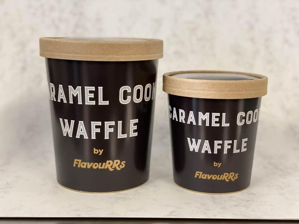 Caramel Cookie Waffle